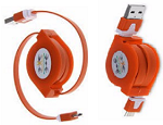 5pin data sync flat charger cable